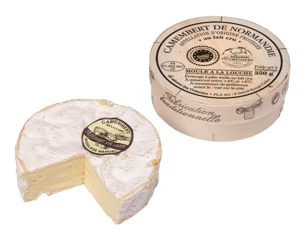 CAMEMBERT DE NORMANDIE AOP 250g